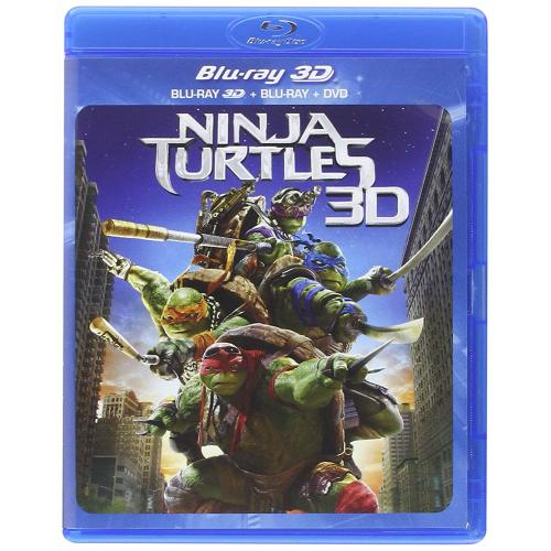 Test Blu-Ray 3D : Ninja Turtles