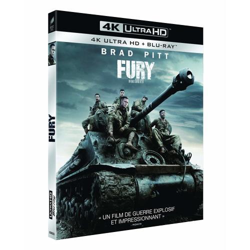Test 4K Ultra HD Blu-ray : Fury (Master 4K)