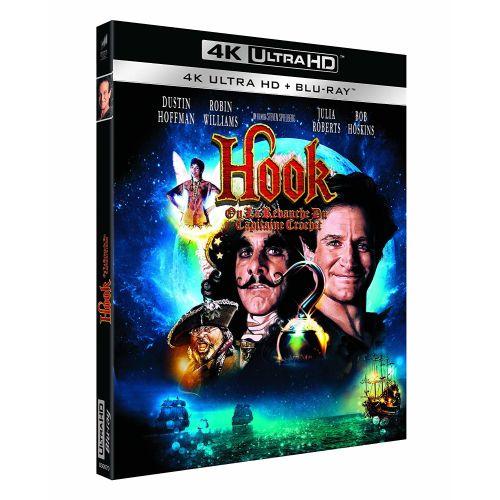 Test 4K Ultra HD Blu-ray : Hook, ou la Revanche du Capitaine Crochet (Master 4K)