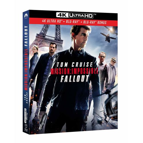 Test 4K Ultra HD Blu-ray : Mission: Impossible - Fallout (Master 4K)