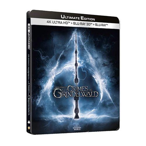Test 4K Ultra HD Blu-ray : Les Animaux fantastiques : Les Crimes de Grindelwald