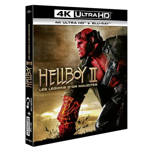 Test 4K Ultra HD Blu-ray : Hellboy 2, Les légions d'or maudites