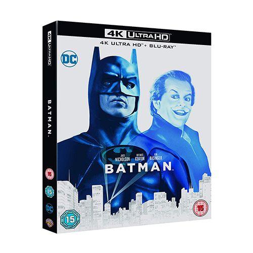 Test 4K Ultra HD Blu-ray : Batman (1989)