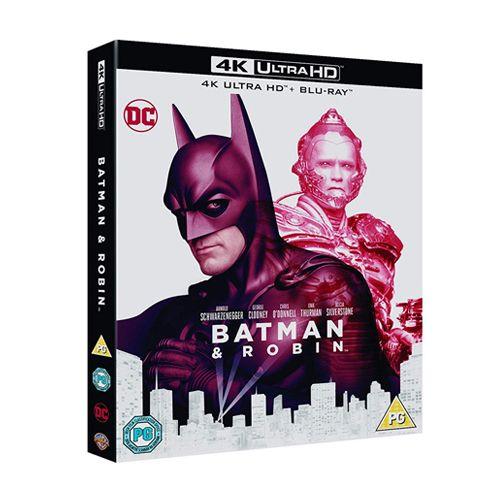 Test 4K Ultra HD Blu-ray : Batman & Robin