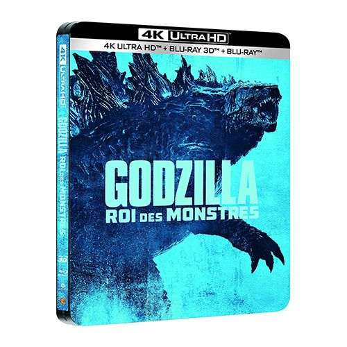 Test 4K Ultra HD Blu-ray : Godzilla, Roi des Monstres