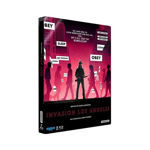 Test 4K Ultra HD Blu-ray : Invasion Los Angeles