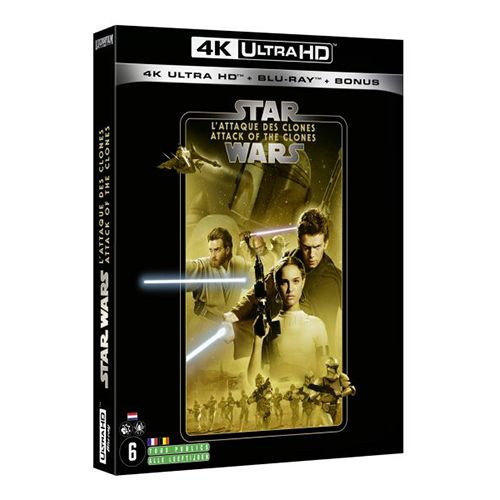 Test 4K Ultra HD Blu-ray : Star Wars : Episode II - L'Attaque des Clones