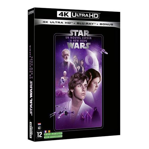 Test 4k Ultra Hd Blu Ray Star Wars Episode Iv Un Nouvel Espoir
