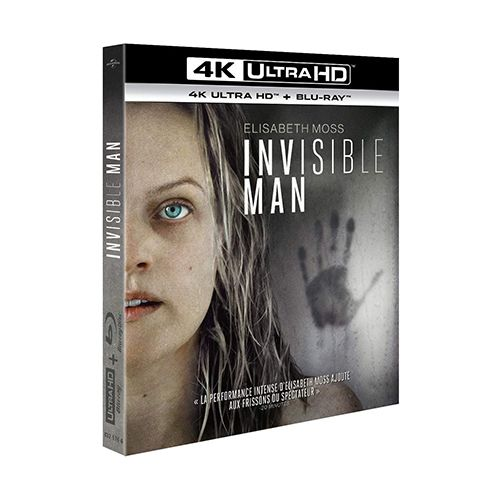 Test 4K Ultra HD Blu-ray : Invisible Man