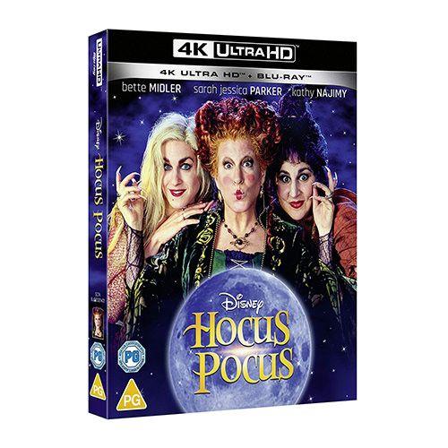 Test 4K Ultra HD Blu-ray : Hocus Pocus