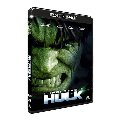 Test 4K Ultra HD Blu-ray : L'Incroyable Hulk