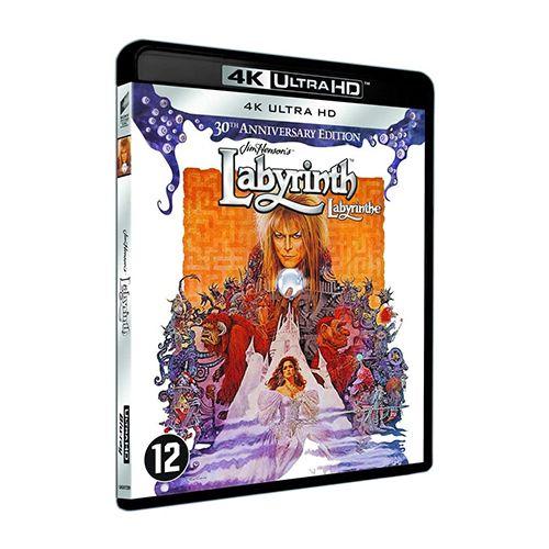 Test 4K Ultra HD Blu-ray : Labyrinthe (1986)