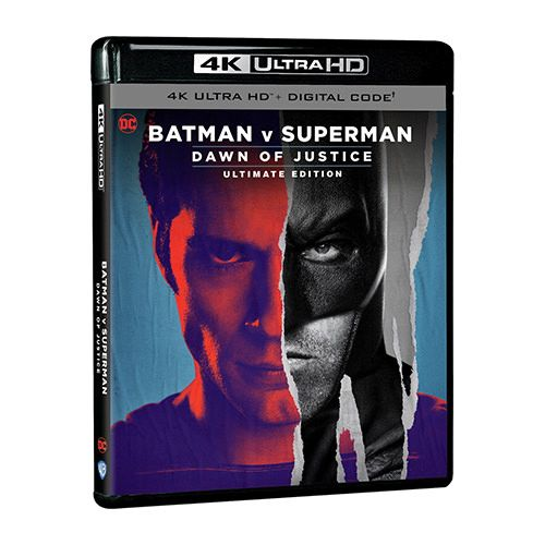 Test 4K Ultra HD Blu-ray : Batman v Superman - L'Aube de la Justice (Master 2021)