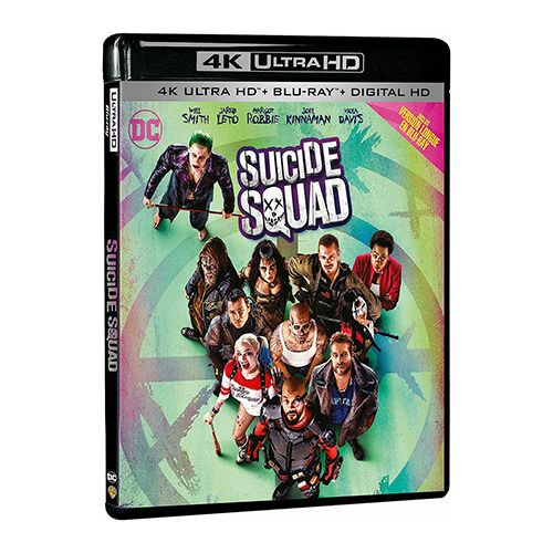 Test 4K Ultra HD Blu-ray : Suicide Squad