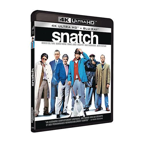 Test 4K Ultra HD Blu-ray : Snatch