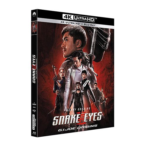 Test 4K Ultra HD Blu-ray : Snake Eyes : G.I. Joe Origins